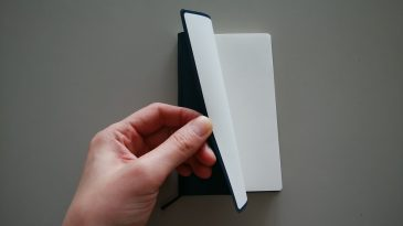 手帳カバー貼付けサンプル3