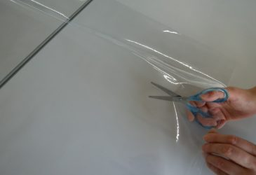 透明ビニールシート<0.3mm×幅91.5cm ×50m>